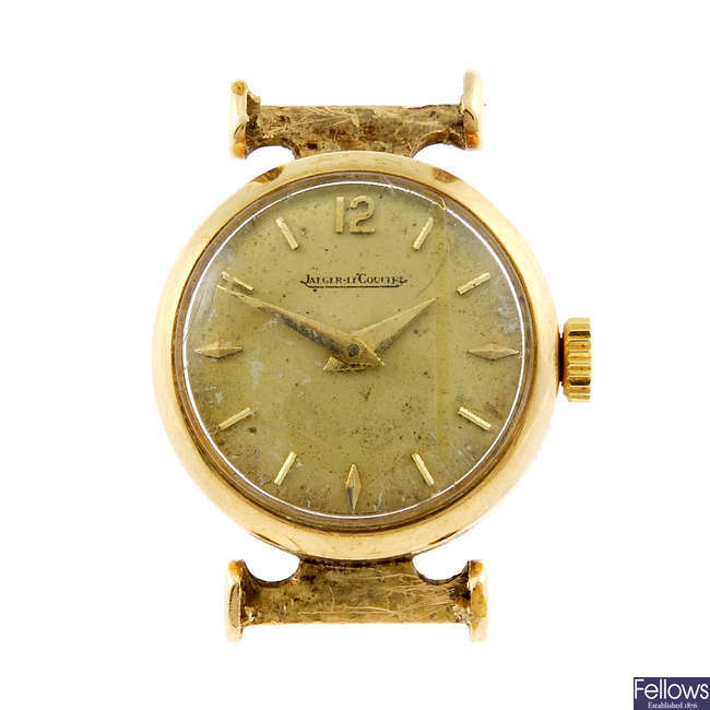 JAEGER-LECOULTRE - a lady's watch head.