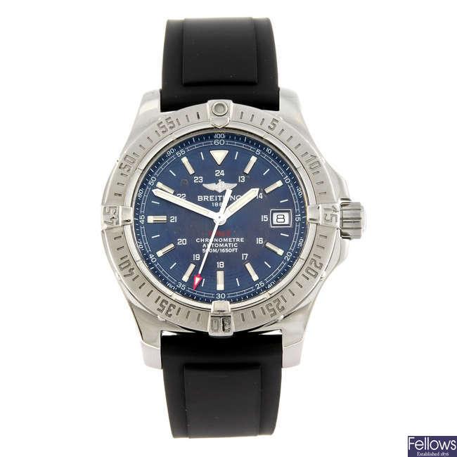BREITLING - a gentleman's Aeromarine Colt wrist watch.