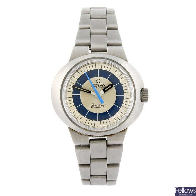 OMEGA - a lady's Dynamic bracelet watch.
