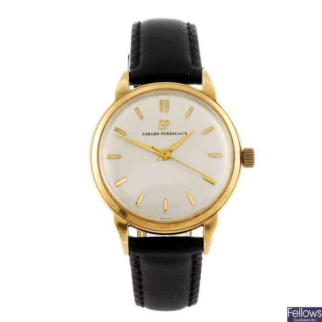 GIRARD-PERREGAUX - a gentleman's wrist watch.