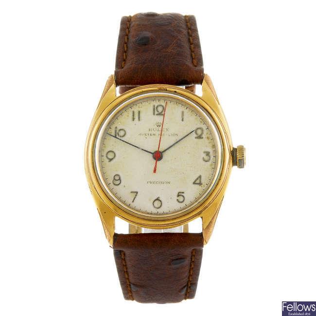 ROLEX - a gentleman's Oyster Air-Lion Precision wrist watch.