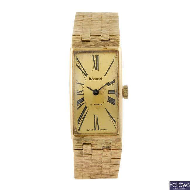 ACCURIST - a lady's bracelet watch.