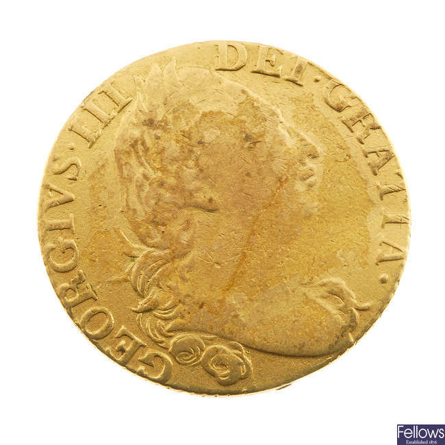 George III, Guinea 1785 (S 3728).