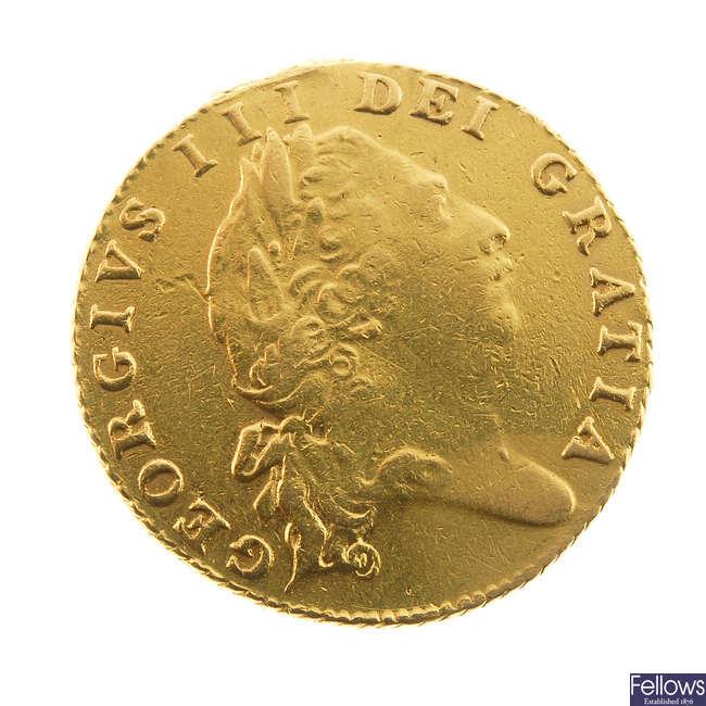 George III, Half-Guinea 1803 (S 3736).