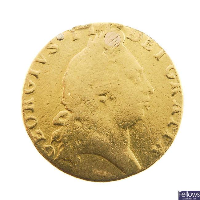 George III, Guinea 1792 (S 3729).