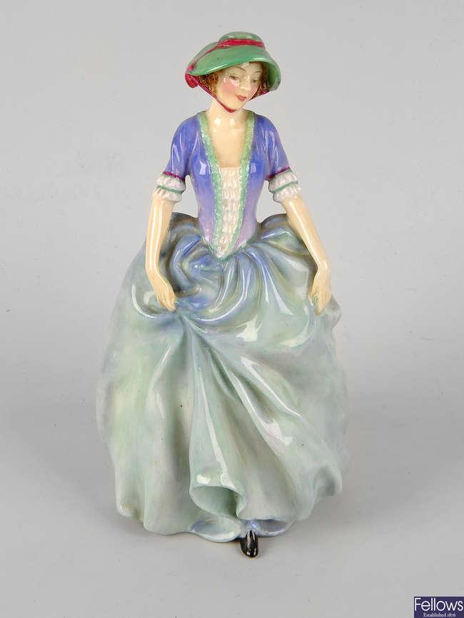 A Royal Doulton bone china figurine, 'Vanessa' HN1836