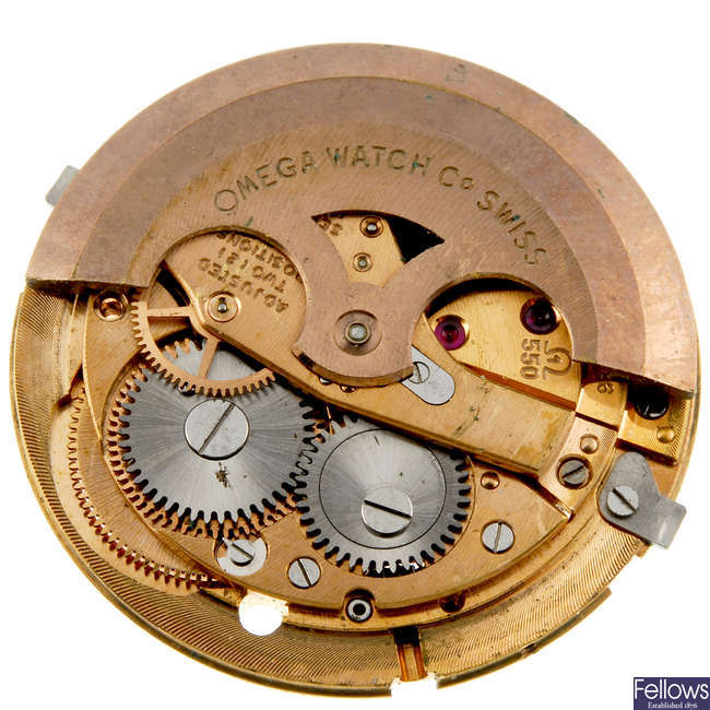 OMEGA - an automatic calibre 550 together with a quartz 1250.
