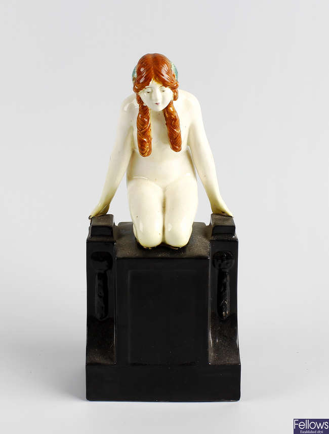 A Royal Worcester figure