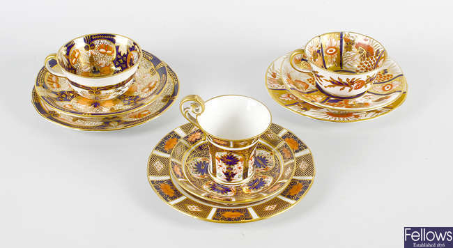 A collection of Royal Crown Derby