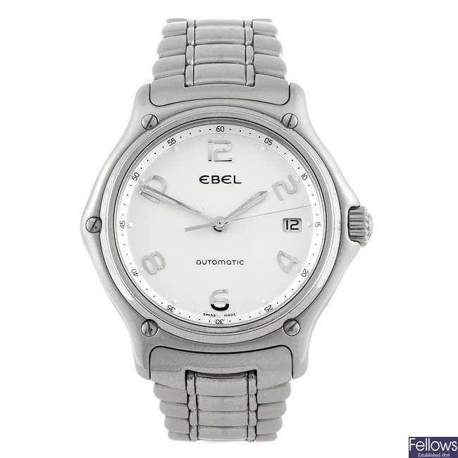 EBEL - a gentleman's automatic bracelet watch.