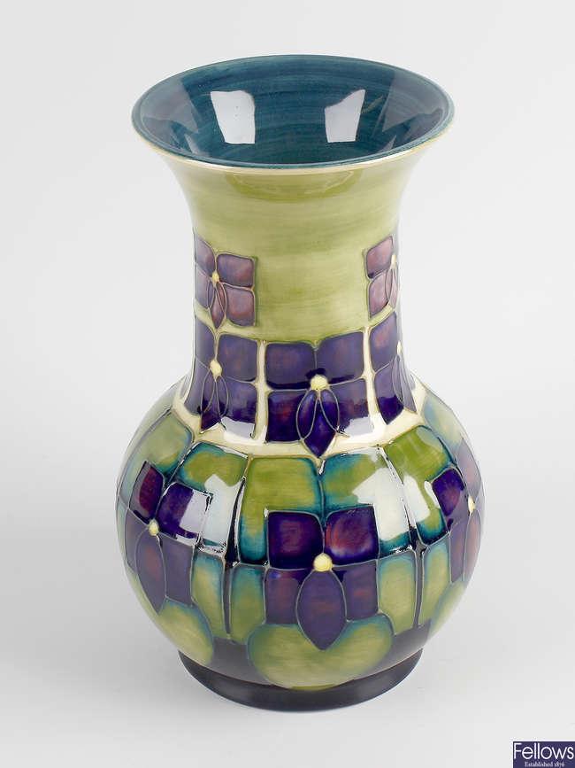 A large William Moorcroft vase