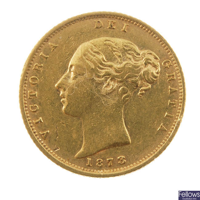 Victoria, Half-Sovereign 1873.