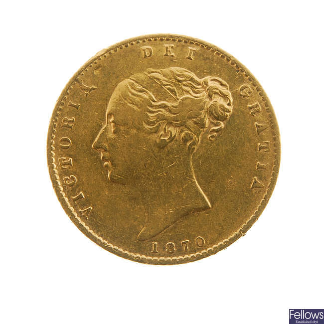 Victoria, Half-Sovereign 1870.