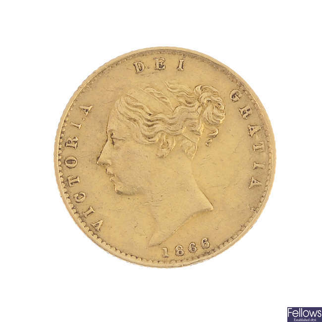 Victoria, Half-Sovereign 1866.
