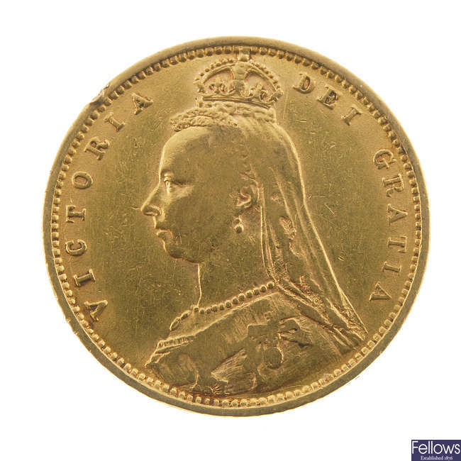 Victoria, Half-Sovereign 1892.