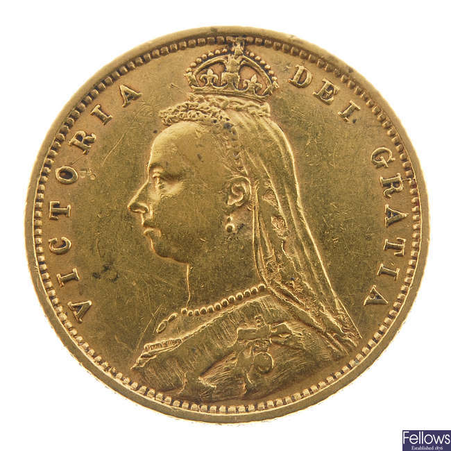 Victoria, Half-Sovereign 1890.