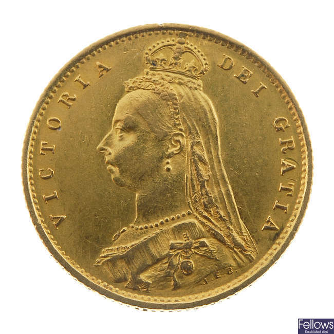 Victoria, Half-Sovereign 1887.