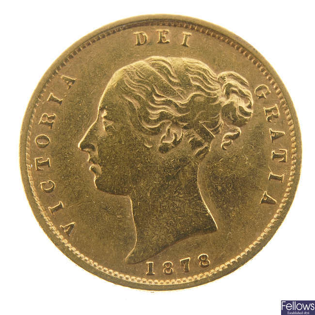Victoria, Half-Sovereign 1878.