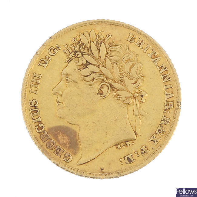 George IV, Half-Sovereign 1824.