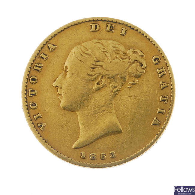 Victoria, Half-Sovereign 1853.