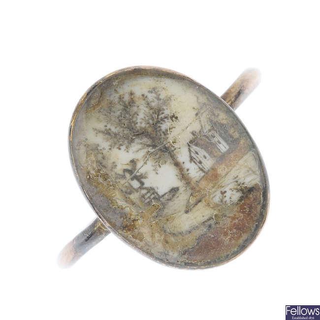 A George III ring.