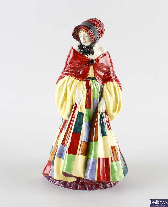 A Royal Doulton figure, 'The Parson's Daughter'.
