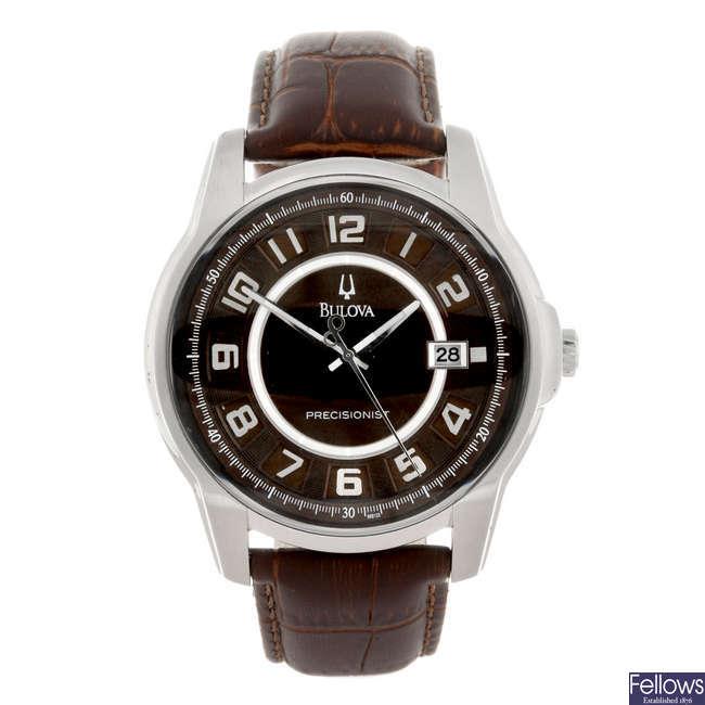 BULOVA - a gentleman's Precisionist wrist watch.