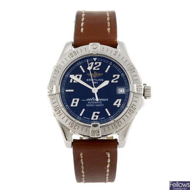 BREITLING - a gentleman's Aeromarine Colt Oceane wrist watch.