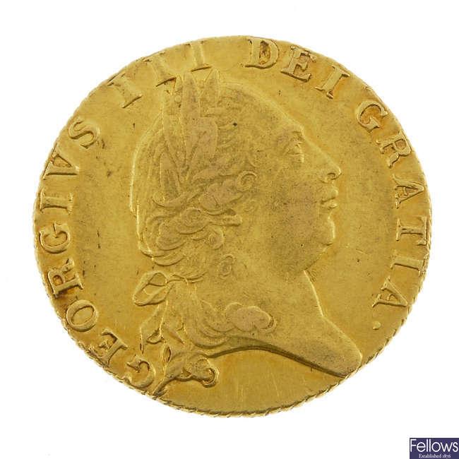 George III, Guinea 1790.