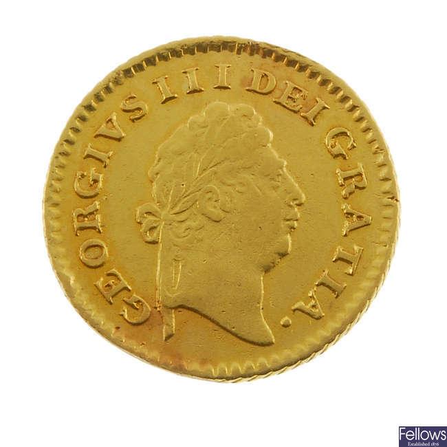George III, Third-Guinea 1800.