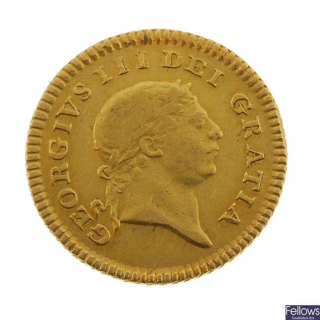George III, Third-Guinea 1804.