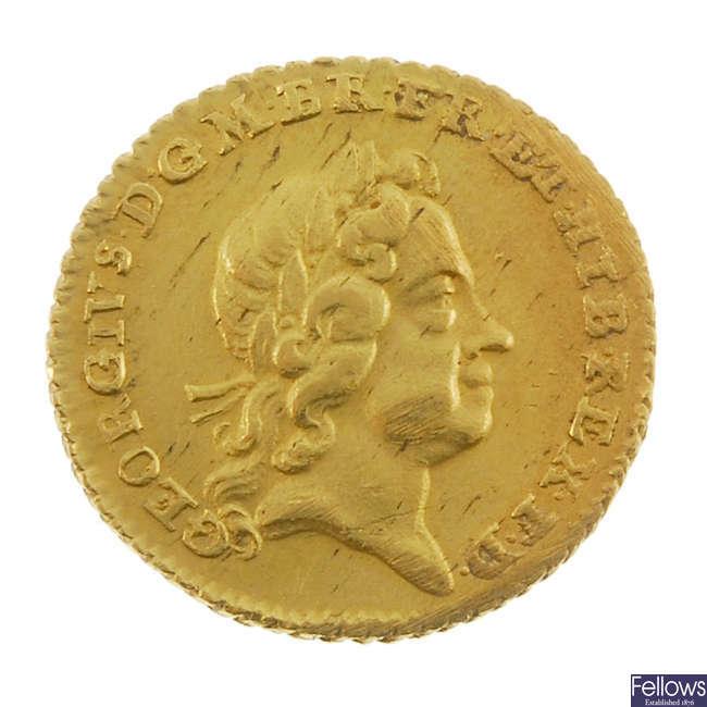 George I, Quarter-Guinea 1718