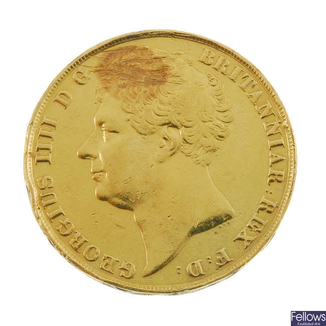 George IV, Two-Pounds 1823