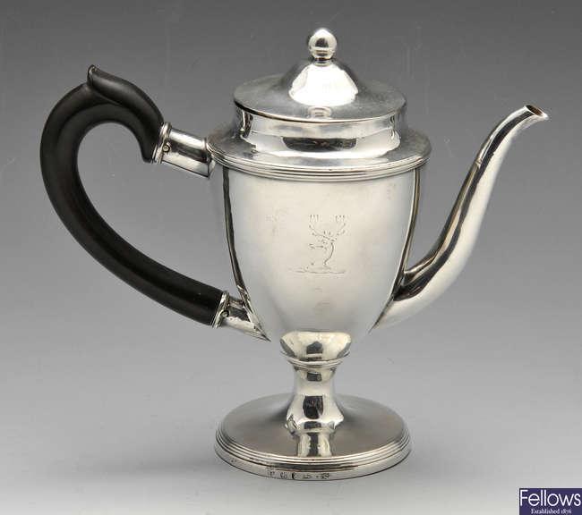A George III silver argyle.