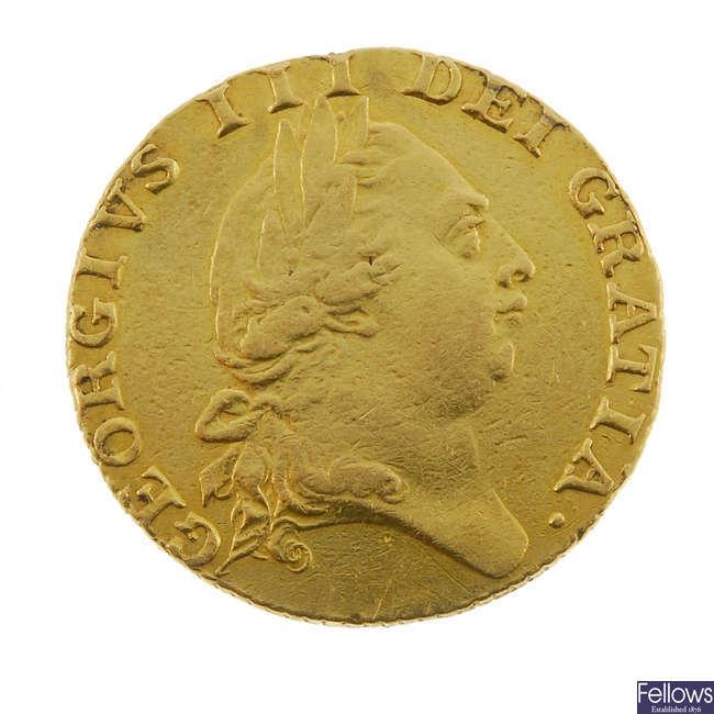 George III, Guinea 1787.