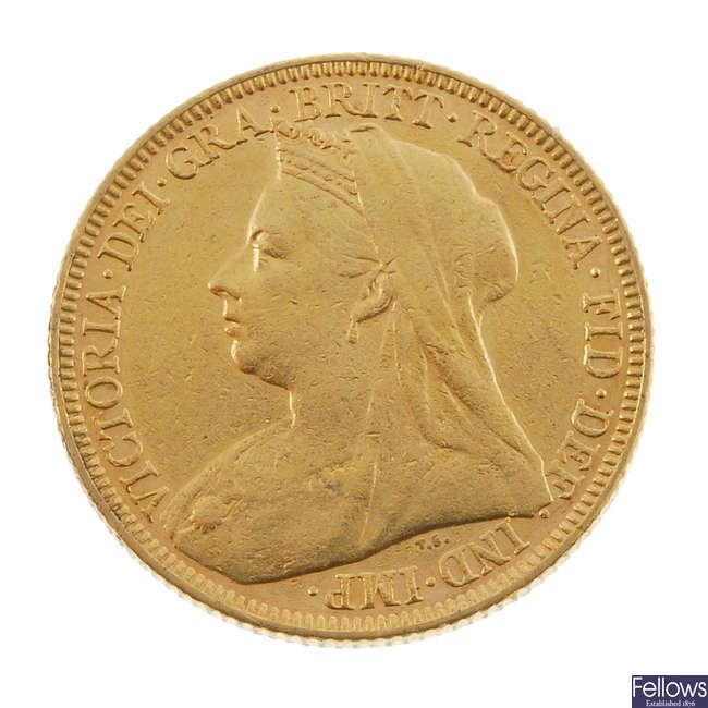 Victoria, Sovereign 1897M.
