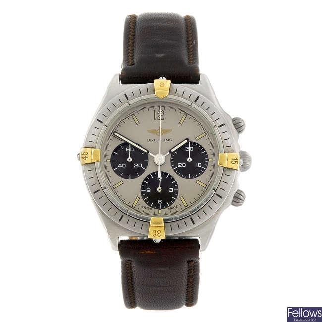 BREITLING - a mid-size Callisto Chrono chronograph wrist watch.