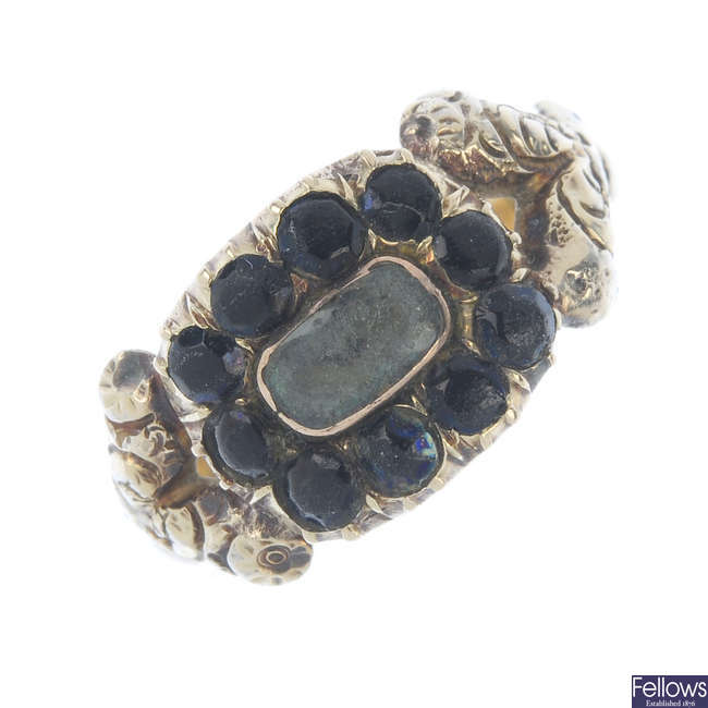 A George IV memorial ring.
