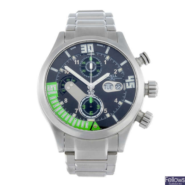 BALL - a gentleman's stainless steel Engineer Master II Diver chronograph bracelet watch.