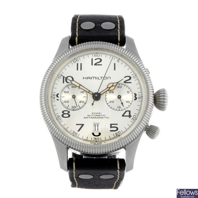 BALL - a gentleman's stainless steel Engineer Master II Diver Chrono chronograph wrist watch.