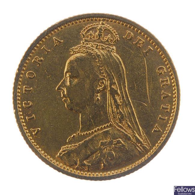 Victoria, Half-Sovereign 1892.