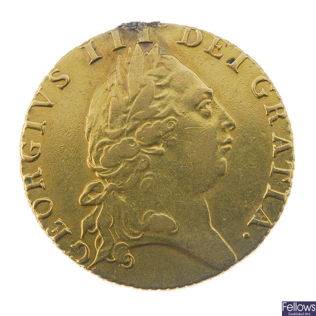 George III, Guinea 1792.