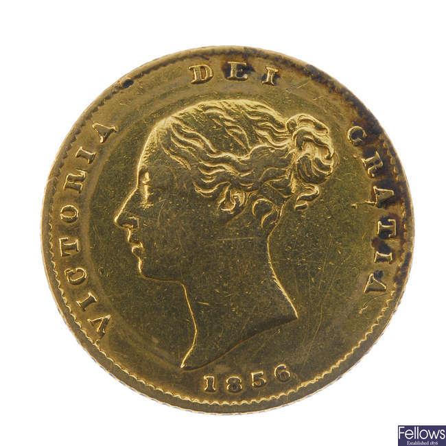 Victoria, Half-Sovereign 1856.