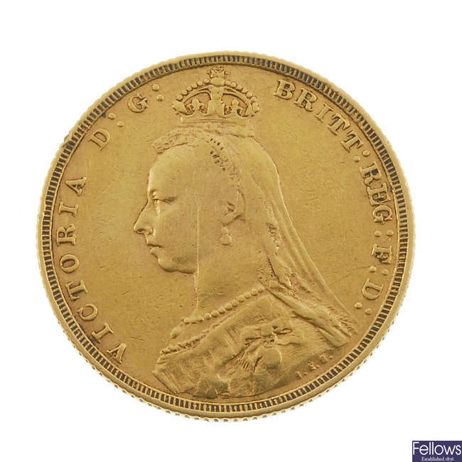 Victorian, Sovereign 1888.