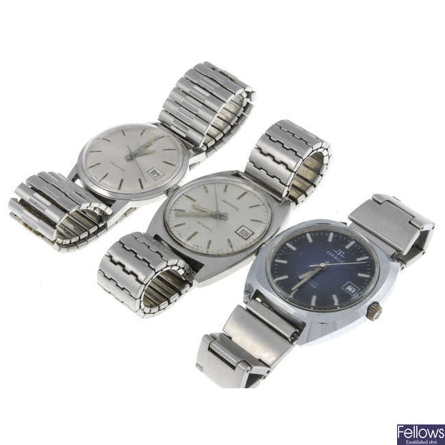 TISSOT - a group of seven watches.