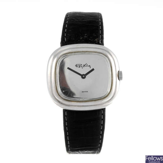 ROY KING - a gentleman's silver wrist watch