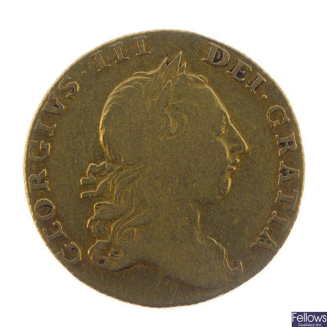 George III, Guinea 1764.