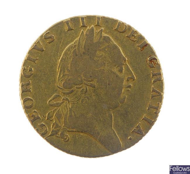 George III, Guinea 1789.