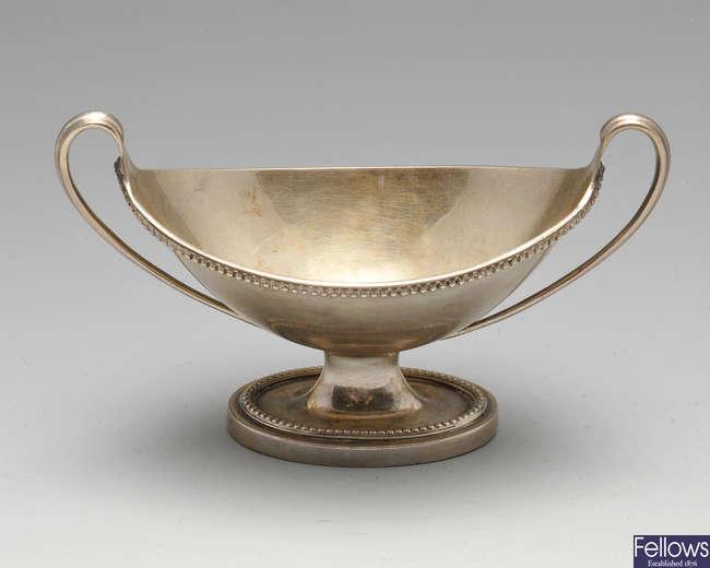 An early twentieth century silver salt.