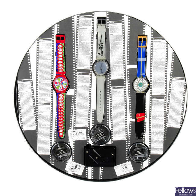 SWATCH - 100 Years of Cinema 1895-1995 collection